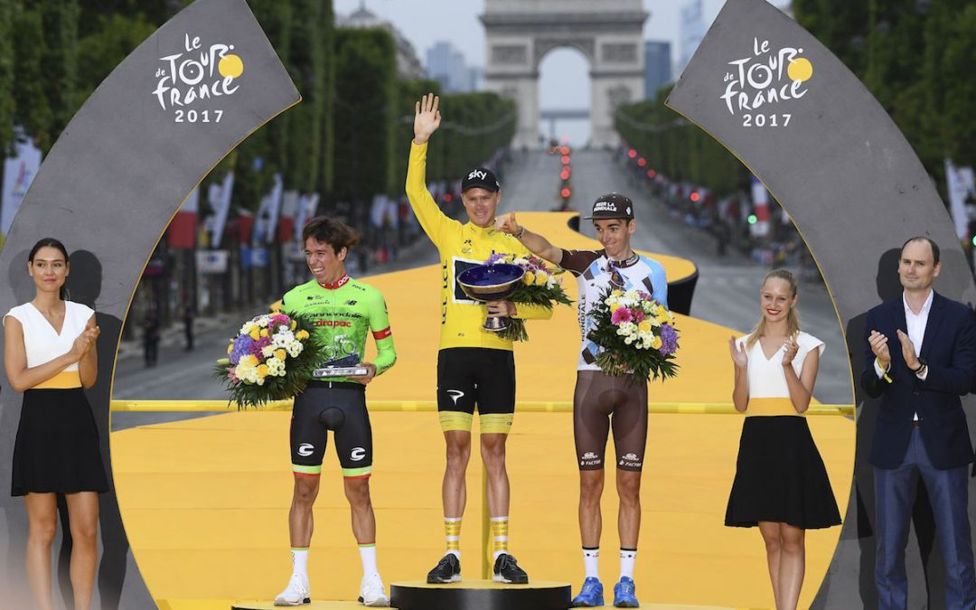RockTape Powering a Podium Finish at the Tour de France