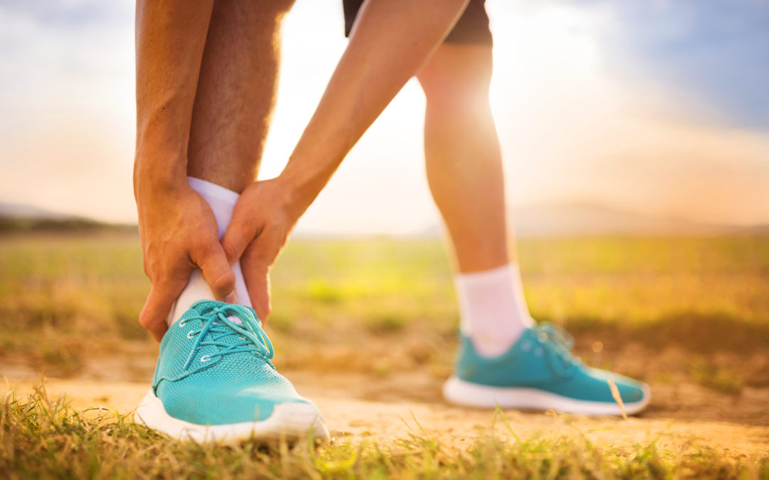 Ankle sprains in cutting sports