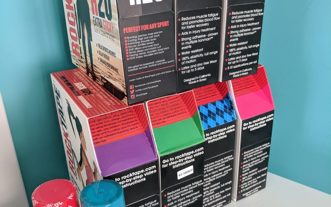 Tape the Rainbow! Get creative with your kinesiology tape!