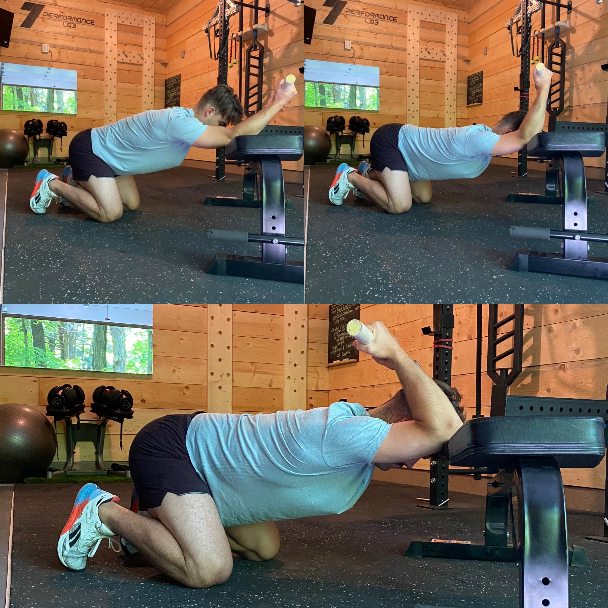 thoracic spine extension